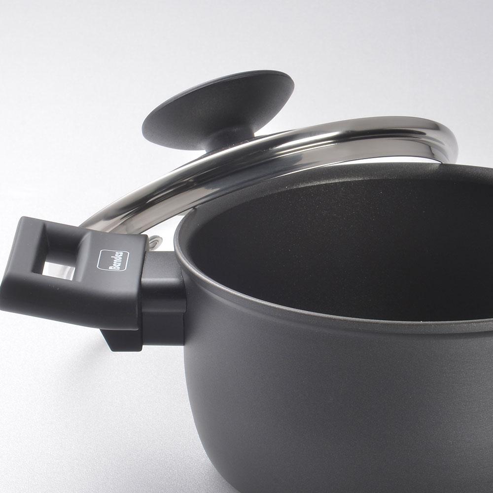 Berndes 寶迪鍋 Alu 特別版 雙耳湯鍋 含蓋 不沾鍋 深鍋 16cm 3