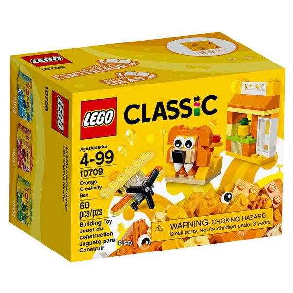 東喬精品百貨商城:樂高積木LEGO《LT10709》2017年基本顆粒系列-橘色創意盒