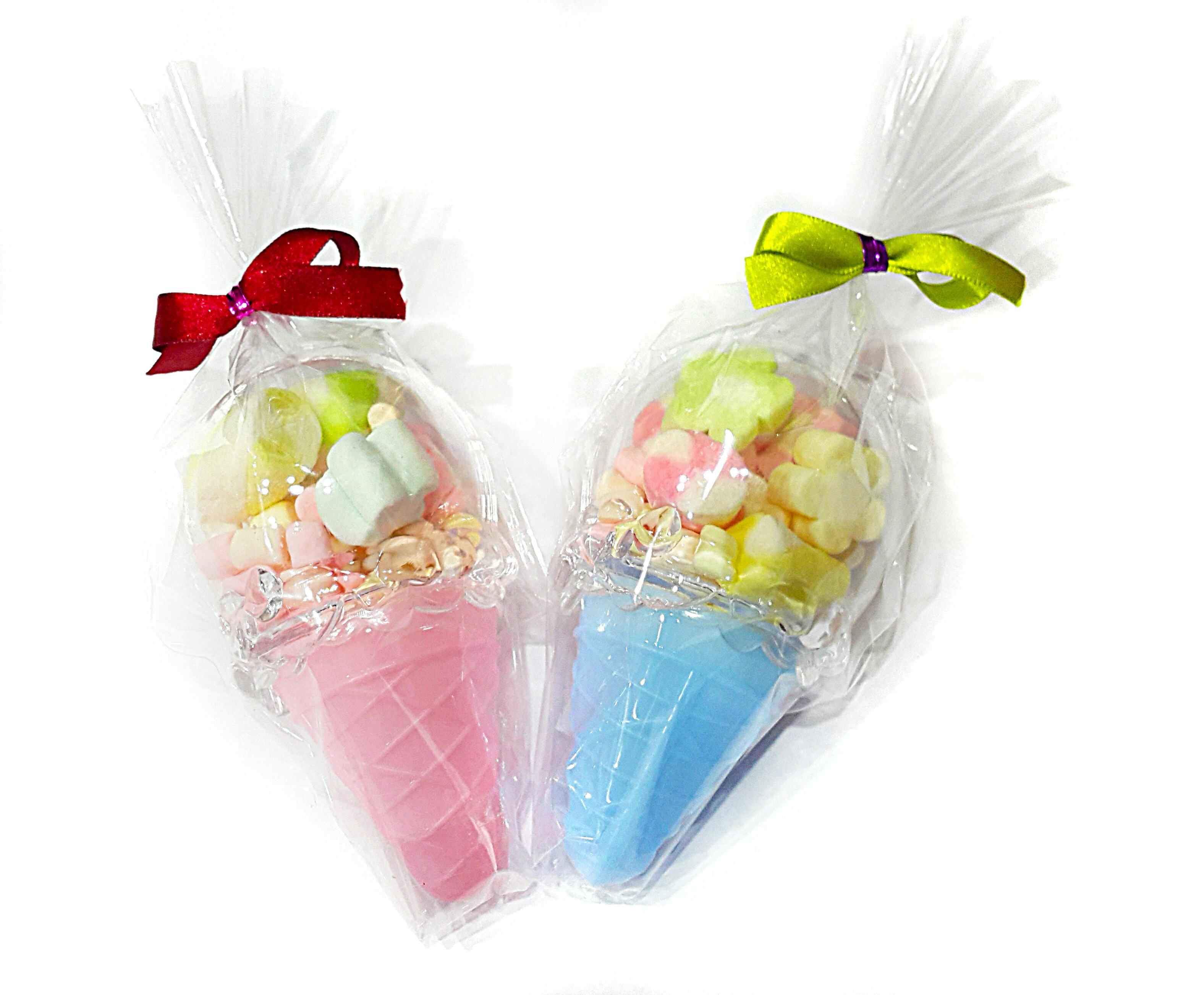 X射線【Y040007】冰淇淋甜筒糖果組(不挑色),糖果襪/糖果罐/聖誕節/交換禮物/婚禮小物/兒童節/禮物/
