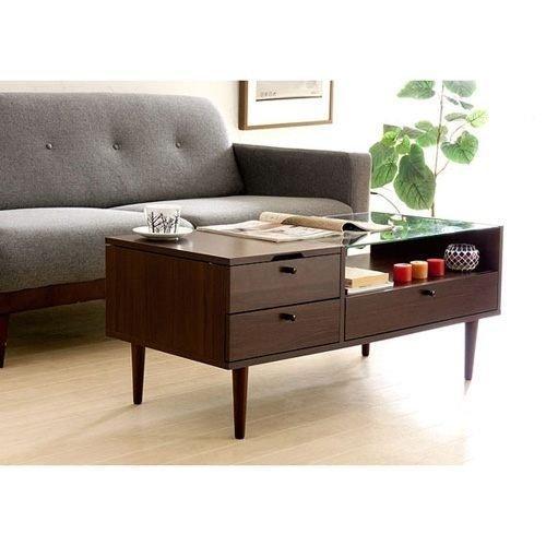 優質掀鏡兩用化妝玻璃茶几桌 化妝桌 和室桌~簡易組裝~【馥葉】 型號ZHT-5013