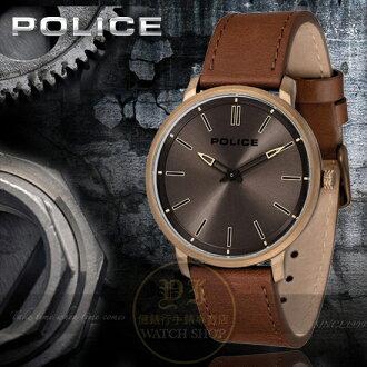 POLICE義大利國際品牌簡約時尚潮流腕錶14922JSK-61原廠公司貨