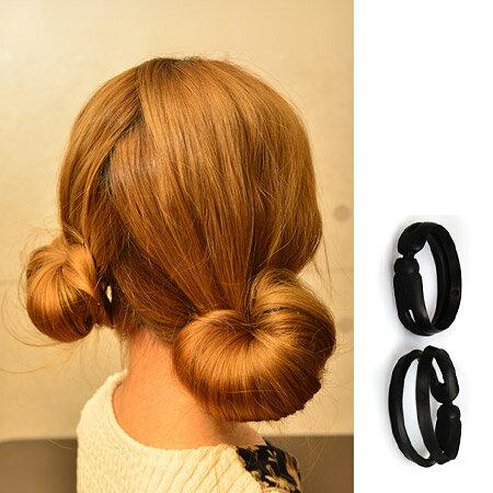 甜美可愛蘑菇頭盤髮器(小款2入) 花苞頭 日系丸子頭 包包頭 頭飾 髮飾【N200827】