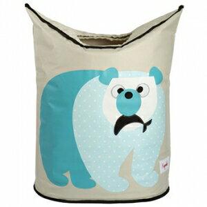 加拿大 3 Sprouts 藍天白熊洗衣籃0713757718639★愛兒麗婦幼用品★