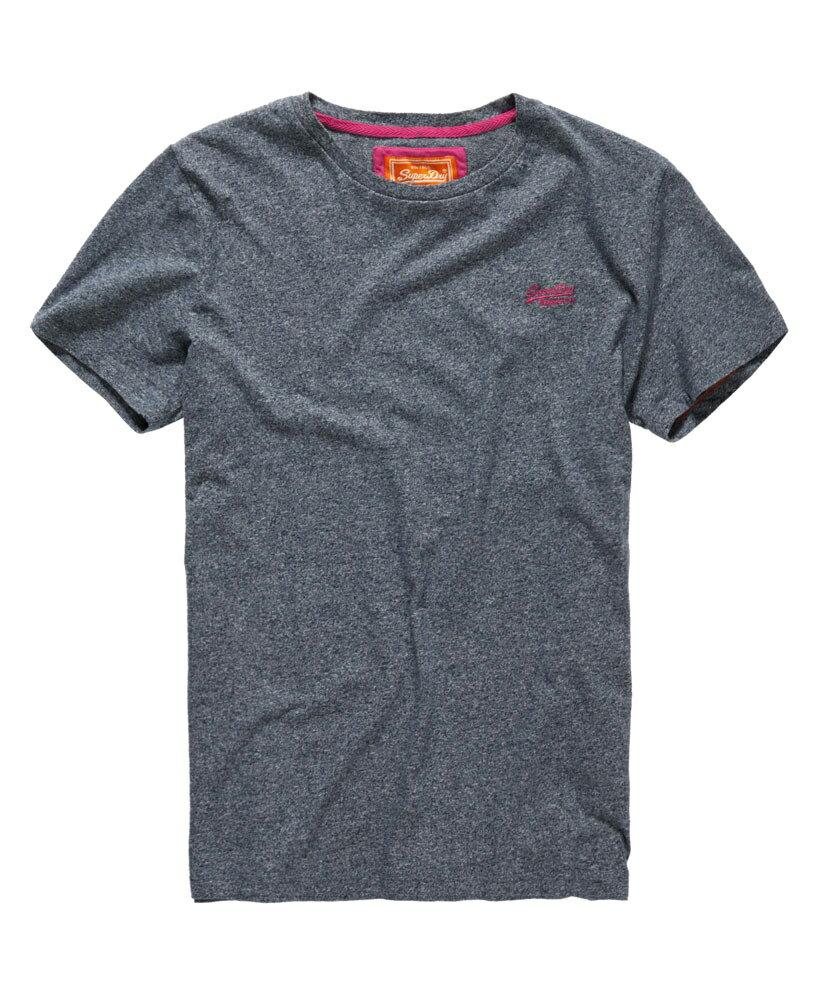 美國百分百【Superdry】極度乾燥 T恤 上衣 T-shirt 短袖 短T 經典 灰色 logo 素面 S M號 F235