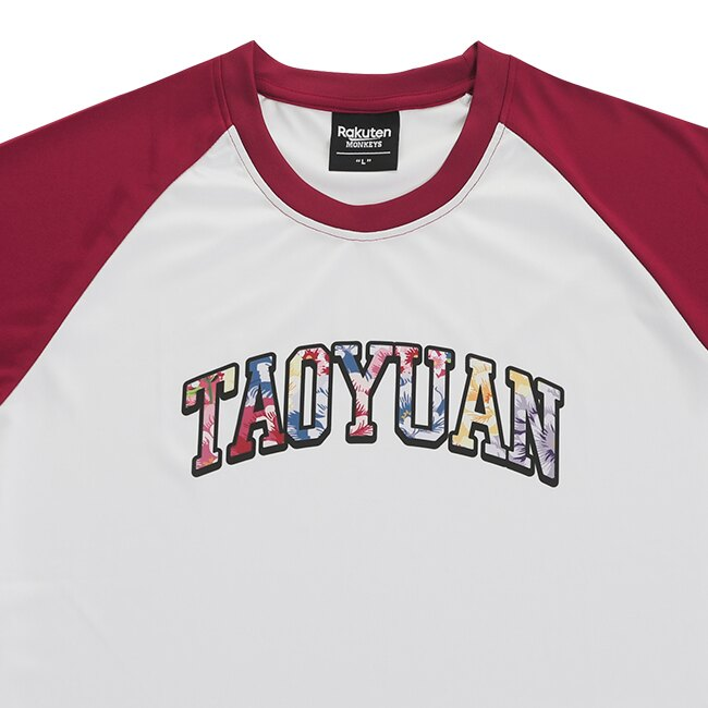 TAOYUAN客家短T-白紅 3