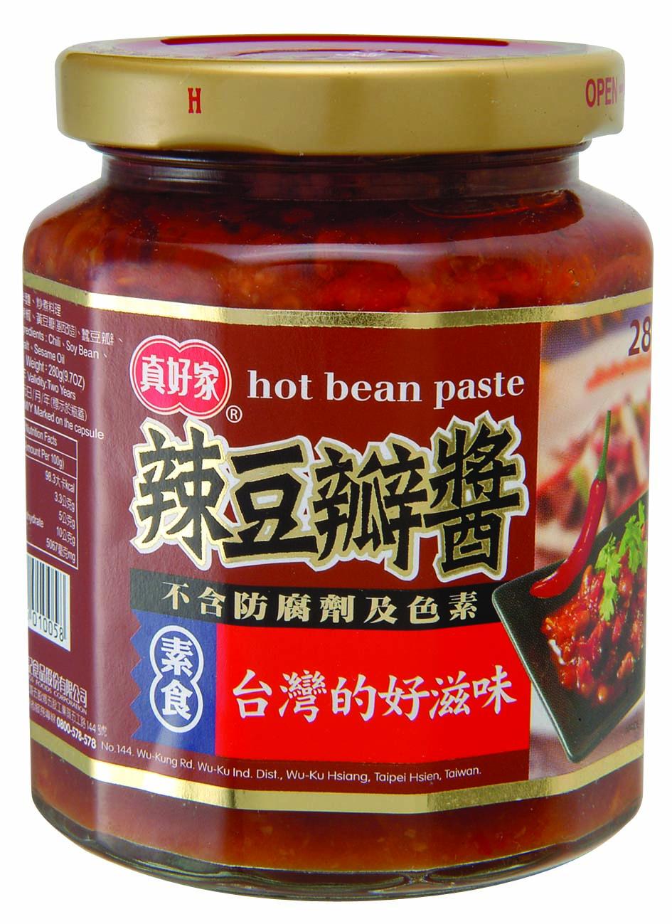 【真好家】辣豆瓣醬280g-(全素)