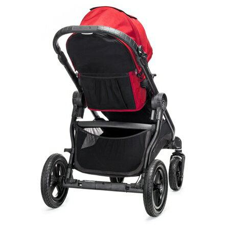 美國【Baby Jogger】City Select 四輪嬰兒推車 (黑管紅) 4