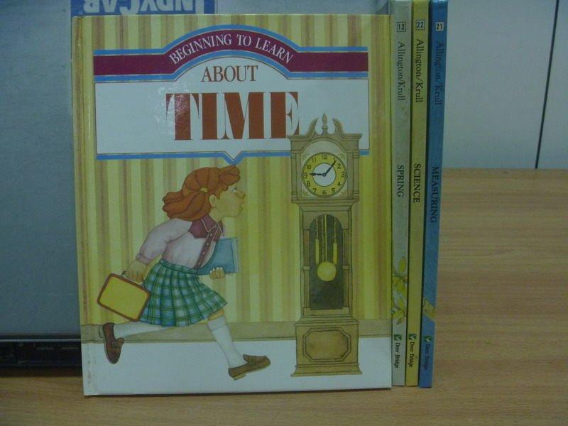 ~書寶 書T7/語言學習_YJE~TIME_Spring_Science等_4本合售_Al