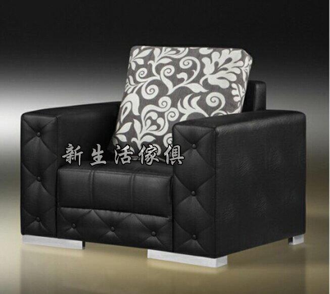 !新生活家具! 皮沙發 黑色 出租套房 組椅 七色可選 一人座 單椅 單人沙發 單人座 二人座 三人座 《奢華帝國》辦公沙發 工廠直營 臺灣製造 非 H&D ikea 宜家