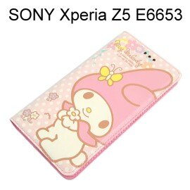 美樂蒂彩繪皮套 [特寫] SONY Xperia Z5 E6653 (5.2吋)【三麗鷗正版授權】