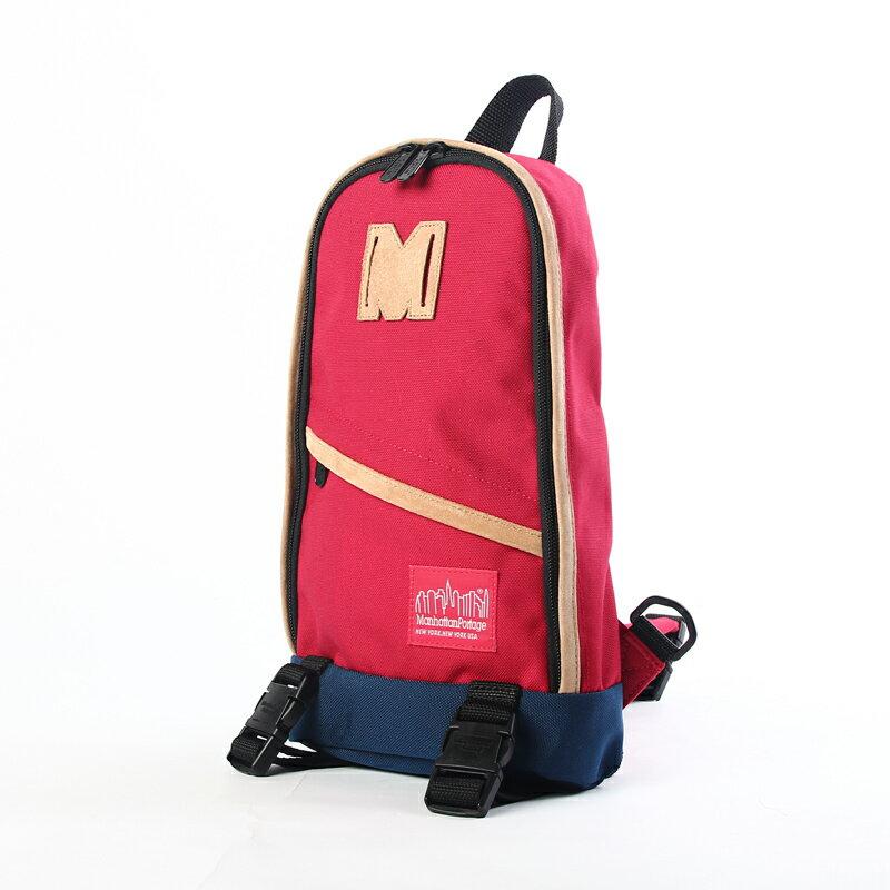 M1918  曼哈頓 Manhattan Portage 帆布單色單肩後背包 紅/藍/迷彩 0
