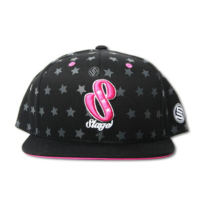 STAGE TALENTS PATTERN SNAPBACK CAP   桃紅/黑  二色 1