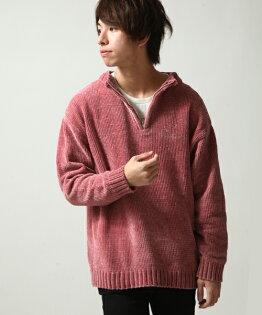 寬版套頭衫粉紅色
