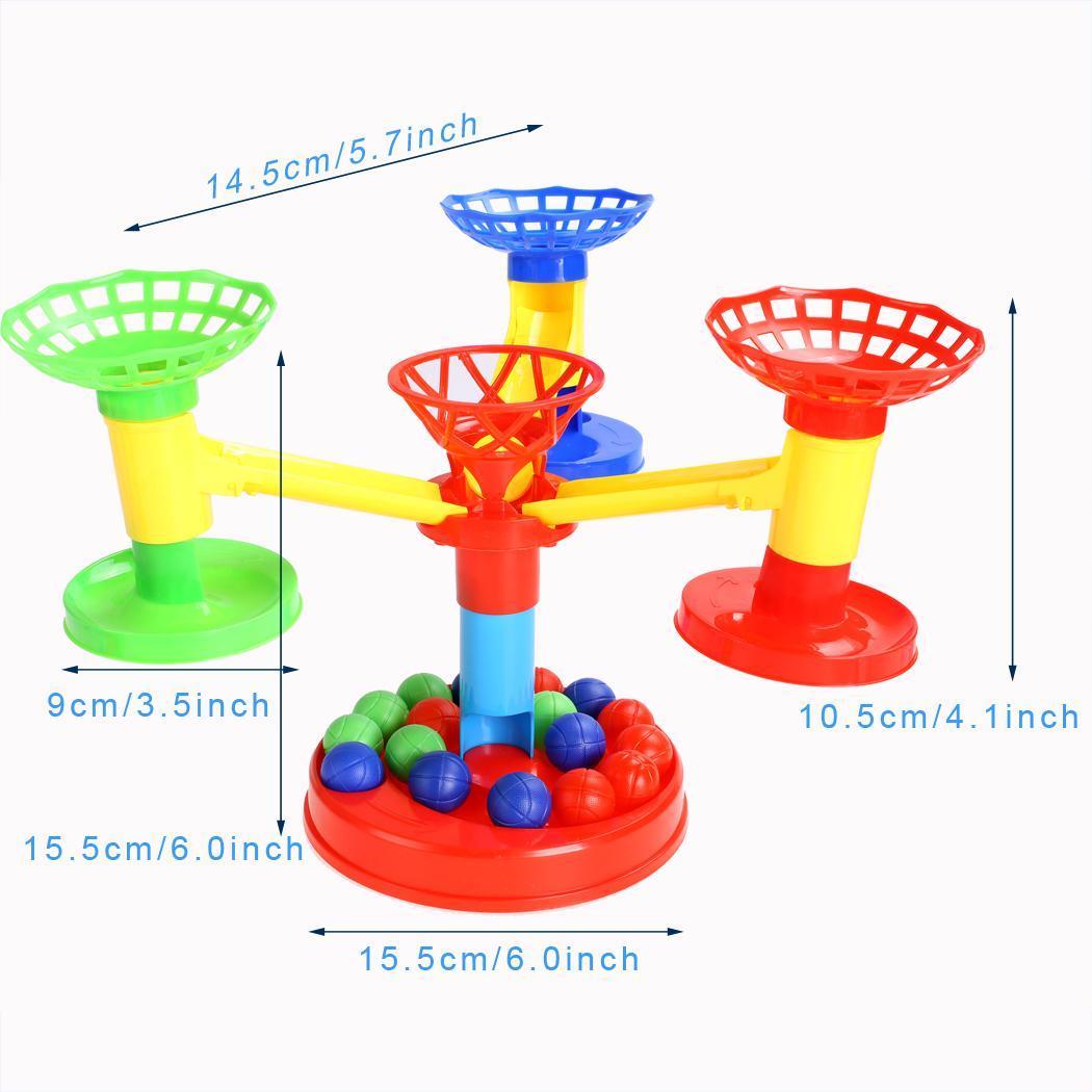 Kids Unisex DIY Educational Developmental Ball Plastic Toys Game 0