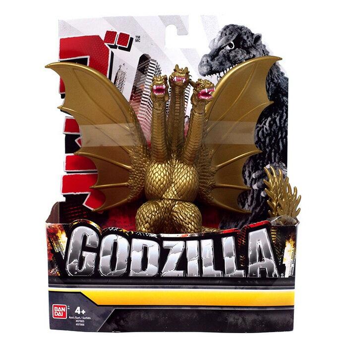BANDAI軟膠 哥吉拉Godzilla 王者基多拉 【鯊玩具Toy Shark】