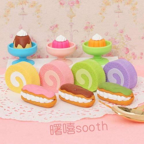【曙嘻sooth-日本直送】iwako 造型橡皮擦 甜食組