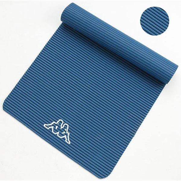 【H.Y SPORT】KAPPA瑜珈墊-有氧 孔雀藍UQ65-MQ12-5/陶瓷綠UQ66-MQ13-4(附收納提袋)