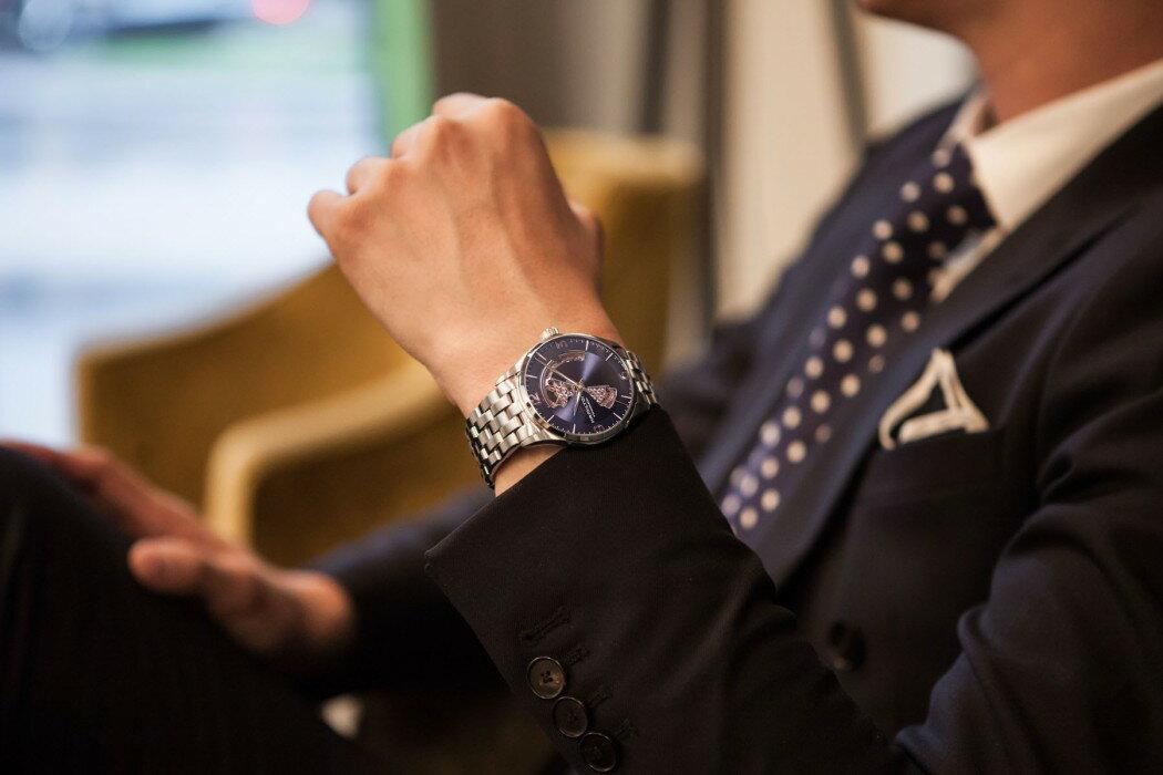 Hamilton 漢米爾頓 JAZZMASTER 爵士系列 80小時自動腕錶 H32705131黑 / 42MM 1