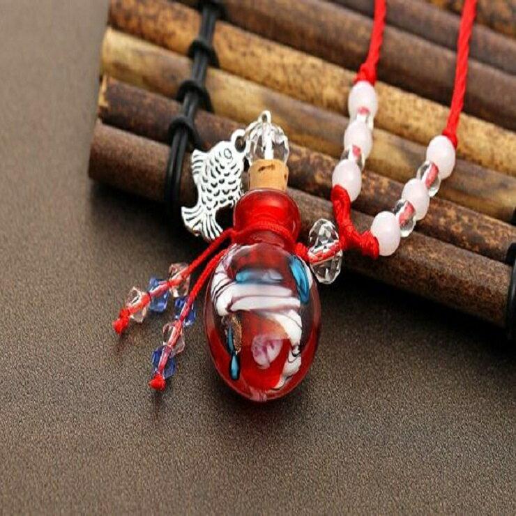 琉璃精油項鍊(小魚款)