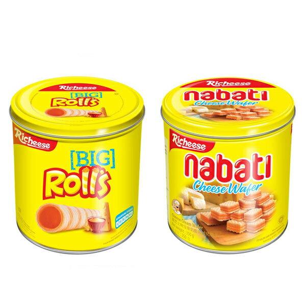 麗巧克 麗芝士Rolls 起司威化捲(330g)/Nabati 起司威化餅(350g)