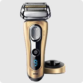 現貨 平行輸入 德國製 百靈 BRAUN【9299S】刮鬍刀 金色特別版 乾濕兩用 充電插座 旅行盒 0
