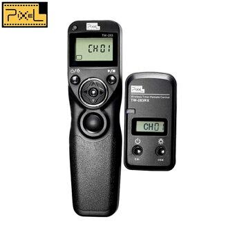 我愛買#品色Pixel副廠Nikon無線電定時遙控器快門線TW-283/DC2適DF D610 D600 D750 D7200 D7100 D7000 D90 D5500 D5300 D5200 D5100 D5000 D3300 D3200 D3100 COOLPIX P7800 P7700 A尼康無線定時遙控器快門線TW283間隔縮時微速度Timelapse(NCC認証)相容原廠Nikon快門線MC-DC2快門線,非Nikon原廠快門線MC-36