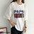 F-DNA★PAPSL拓印英文印字圓領五分袖上衣T恤(2色-M-2XL)【ET12705】 7