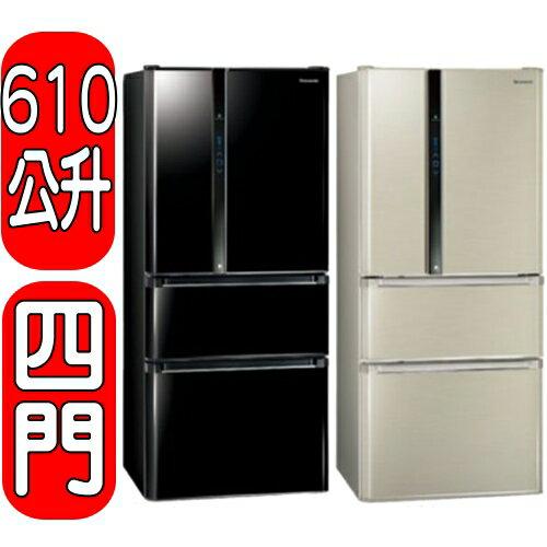 <br/><br/>  《結帳打95折》Panasonic國際牌【NR-D618NHV-L/NR-D618NHV-B】四門冰箱<br/><br/>