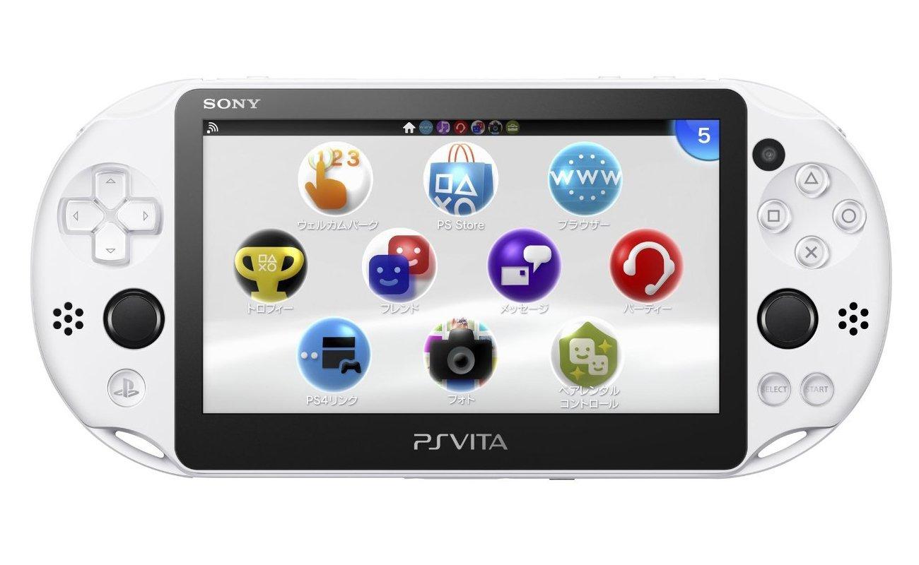 現貨供應中 公司貨 一年保固 贈保護貼 [PSV 主機] PlayStation Vita 「冰河白」(PCH-2007)