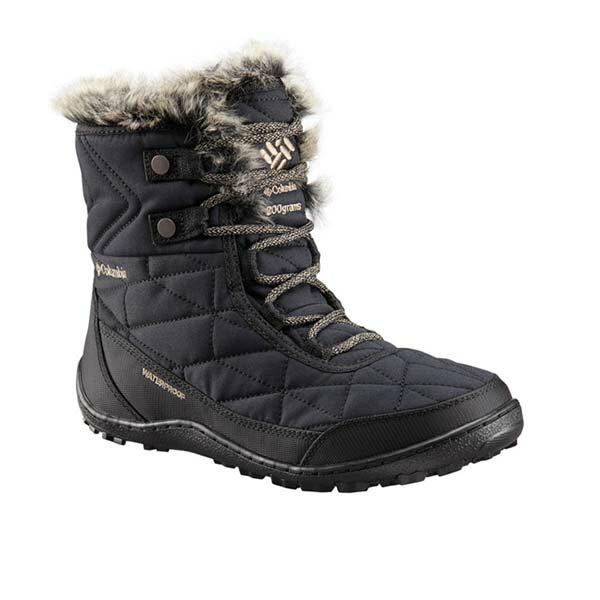 《台南悠活運動家》COLUMBIA UBL59610BK 女 防水透氣熱能保暖雪靴 黑