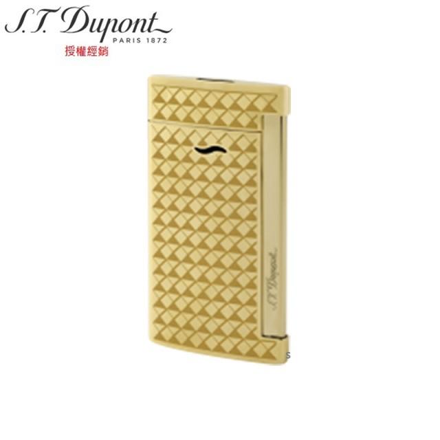 S.T.Dupont 都彭 Slim7系列 打火機金色菱紋 27715