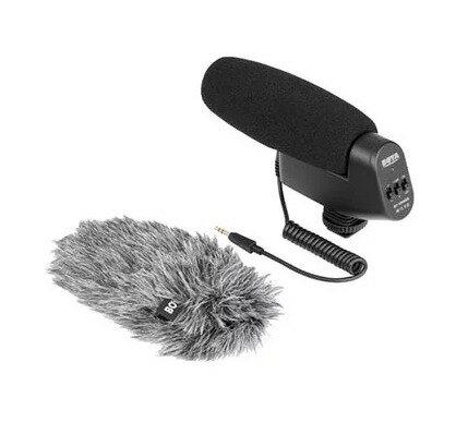BOYA BY-VM600槍型指向式採訪錄音麥克風