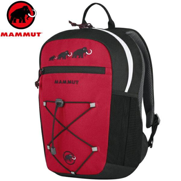 Mammut 長毛象 兒童背包/小朋友背包 附玩偶 First Zip 2510-01542-05758 黑紅8L