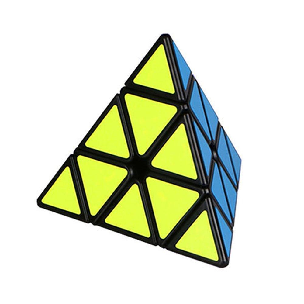 魔方格三階4面三角形魔術方塊(4色)(授權)【888便利購】