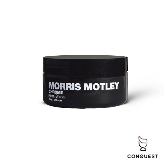 【 CONQUEST 】官方經銷 澳洲 Morris Motley Chrome 強力塑型髮蠟 髮泥 乾爽好推 吸附油脂