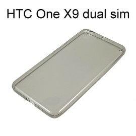 超薄透明軟殼  透灰  HTC One X9 dual sim