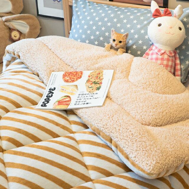 經典線條 羊羔絨暖被 內有充棉  可當棉被使用 150cmX195cm (正負5cm) 0