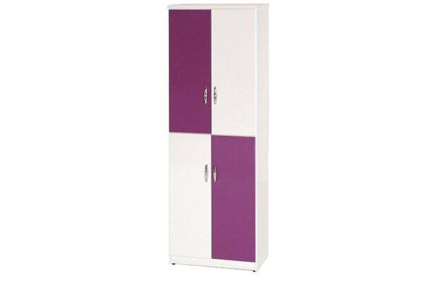 【石川家居】878-08(紫白色)鞋櫃(CT-319)#訂製預購款式#環保塑鋼P無毒防霉易清潔