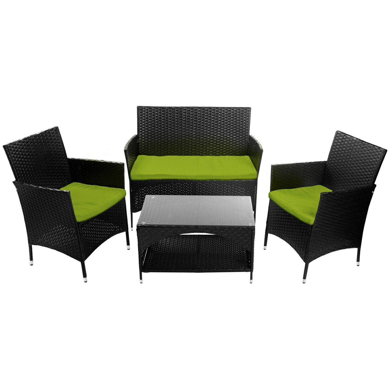 2//4PCS Patio Rattan Wicker Dining Chairs Outdoor Garden Dinner Armchairs Set US