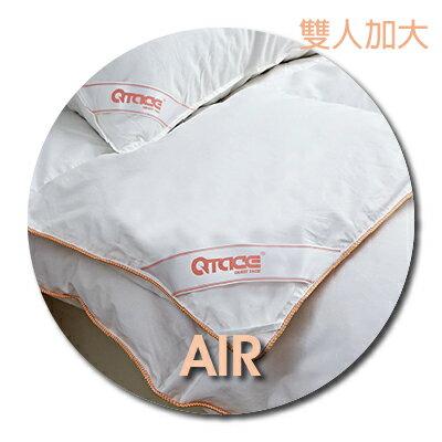QTACE-心舒淨羽絨被 AIR輕淨款-1.1kg 雙人加大