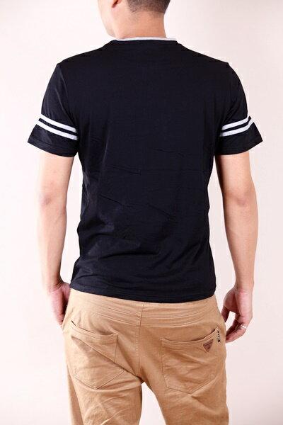 【CS衣舖 】韓系 合身版 萊卡彈力 短袖T恤 3104 5