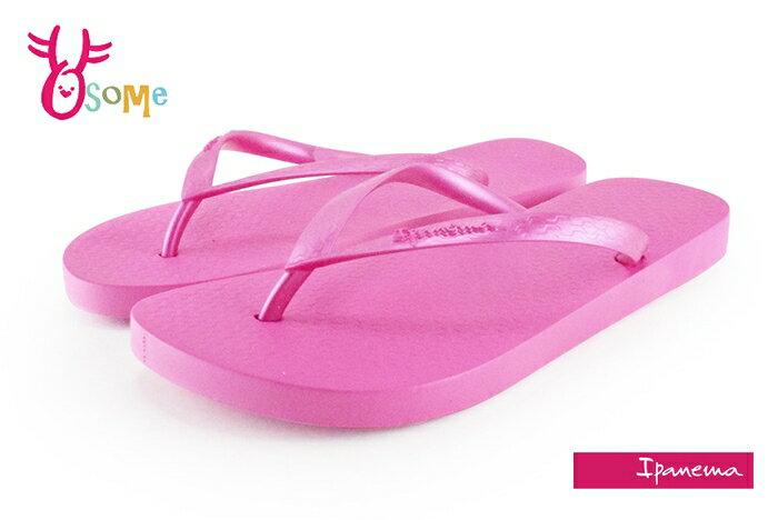 IPANEMA拖鞋 閃耀原色夾腳拖鞋 巴西拖鞋 H5860#桃紅 奧森 奧森