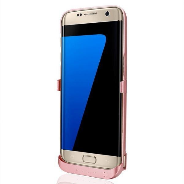 Phone External Battery Power Backup Case Charger Bank for Samsung Galaxy S7 Edege 4