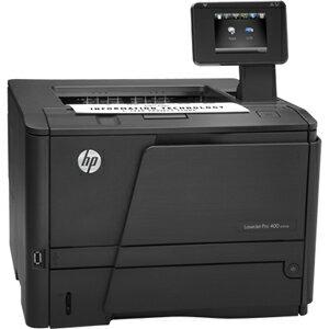 HP LaserJet Pro 400 M401DN Laser Printer - Monochrome - 1200 x 1200 dpi Print - Plain Paper Print - Desktop - 33 ppm Mono Print - 33 ppm Mono Print (ISO) - 300 sheets Standard Input Capacity - 50000 Duty Cycle - Automatic Duplex Print - LCD - Ethernet - U 2