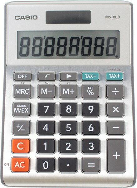 CASIO MS-80B 桌上小型計算機 (8位)