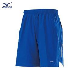 J2TB8A0425(亮藍)股下18cm 輕薄後腰剪接透氣  男路跑褲 【美津濃MIZUNO】