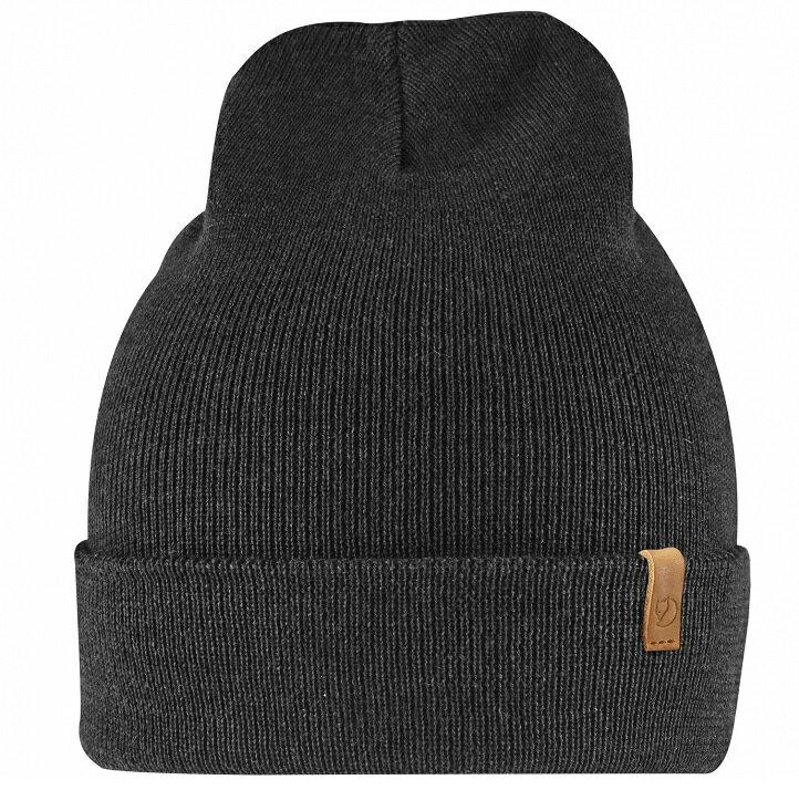 Fjallraven 小狐狸 針織羊毛帽/保暖毛線帽/ Classic Knit Hat 77368 550 黑色