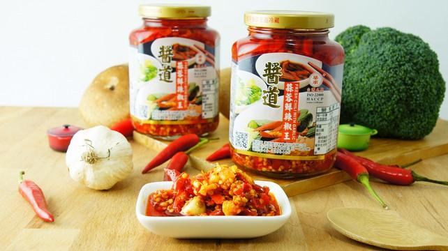 【華南食品】蒜蓉鮮辣椒王(葷食) 369g
