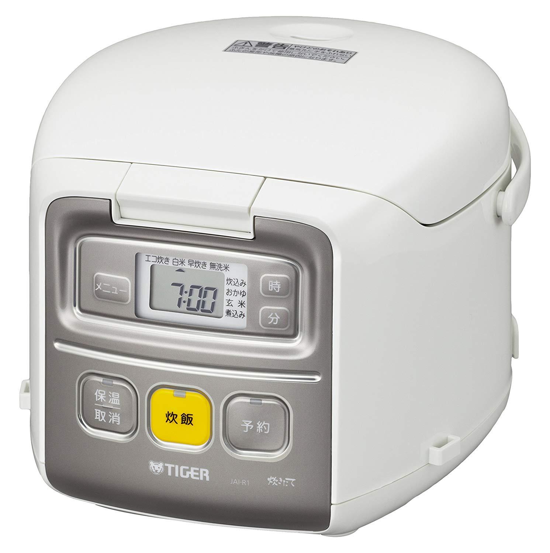 日本原裝 TIGER 虎牌 3人份 JAI-R551 黑遠赤釜 微電腦電子鍋 小容量 省電 小飯鍋 電子鍋 白色 大同電鍋 參考 日本必買