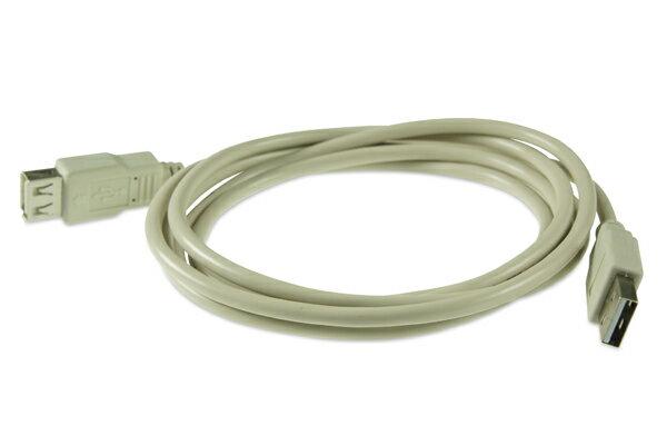 AviewS-USB2.0線材/2.0版/雙A Type/公對母頭 0